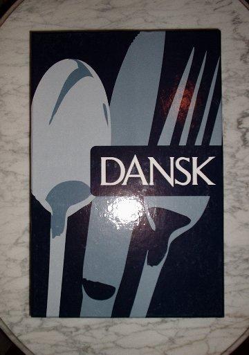 NEW Dansk Cafe Blanc Steak Knife (Set of 4 knives) NIB