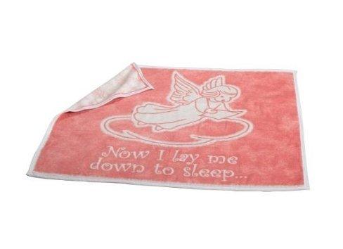 NEW Biederlack Heavenly Comfort Bedtime Prayer Pink Throw Blanket NIP