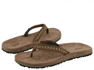 NEW Teva Miramar Stitch Sandals thongs womens 8  NIB