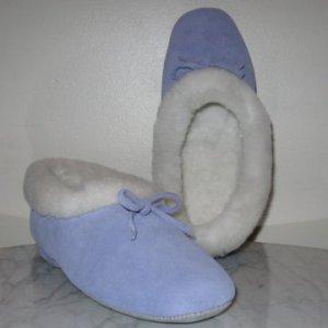 NEW Periwinkle slippers mules booties womens 8 NIB
