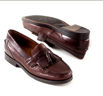 NEW Dockers Strategy Tassel Loafers Mens 10 medium NIB