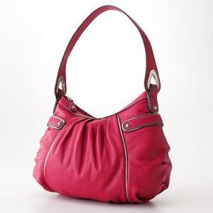New Nine & Co. Nine West  Silver Lining Hobo Cherry (red) NWTs Christmas gift!