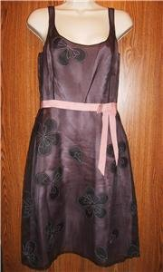 LAUNDRY by Shelli Segal Silk Dress Sz 6 NWOT