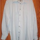 Kenneth Cole Dress Shirt Mens L 16