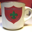 LINCOLN TRAILS COUNCIL DECATUR ILLINOIS BOY SCOUT TROOP CUP MUG ULTRA RARE