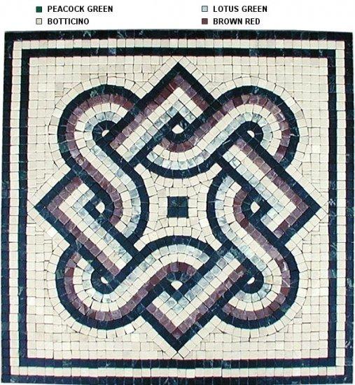 Marble Mosaic Medallion Classic Design