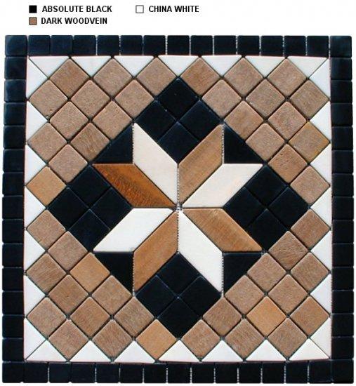 Marble Mosaic Medallion - New Design