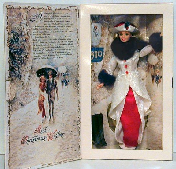 1995 Hallmark 85th Anniversory - Holiday Memories Barbie NIB