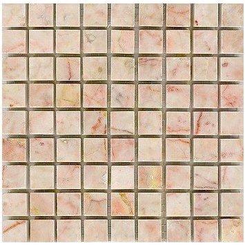 Polished Yangzi Pink 10mm Tesserae Partial Sheets