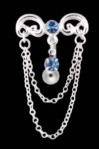 Chandelier Belly Button Ring