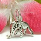 925 STERLING SILVER BABY ELEPHANT CHARM / PENDANT