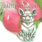 925 STERLING SILVER PIGGY PIG CHARM / PENDANT