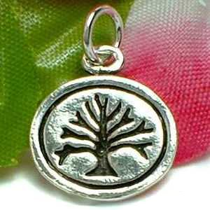 925 STERLING SILVER TREE OF LIFE CHARM / PENDANT