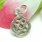 925 STERLING SILVER CELTIC CIRCLE CHARM / PENDANT