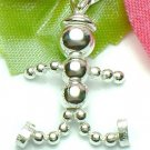 925 STERLING SILVER BOY ROBOT (MOVABLE) CHARM / PENDANT