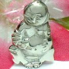 925 STERLING SILVER LAUGHING BUDDHA CHARM / PENDANT