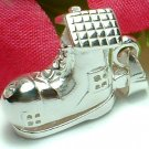 925 STERLING SILVER OLD WOMAN IN SHOE (OPENS) CHARM / PENDANT