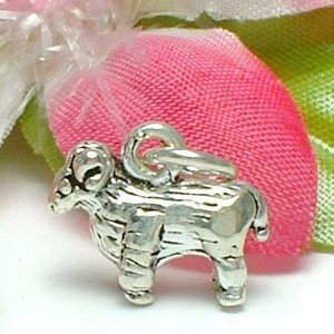 925 STERLING SILVER SHEEP CHARM / PENDANT