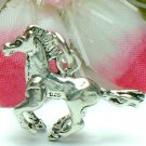 925 STERLING SILVER GALLOPING HORSE CHARM / PENDANT