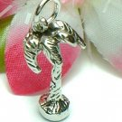 925 STERLING SILVER PALM TREE CHARM / PENDANT