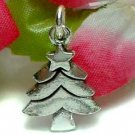 925 STERLING SILVER CHRISTMAS TREE CHARM / PENDANT