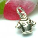 925 STERLING SILVER T-SHIRT / TEE CHARM / PENDANT