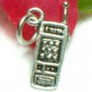 925 STERLING SILVER CELLULAR PHONE CHARM / PENDANT