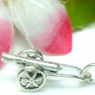 925 STERLING SILVER CANNON CHARM / PENDANT