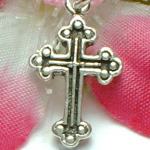 925 STERLING SILVER CROSS CHARM / PENDANT