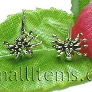 925 STERLING SILVER SPIDER STUD EARRINGS
