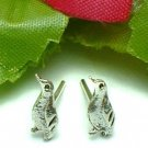 925 STERLING SILVER PENGUIN STUD EARRINGS