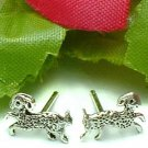 925 STERLING SILVER SHEEP STUD EARRINGS