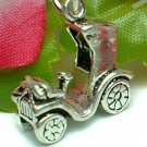925 STERLING SILVER 1898 BENZ CAR CHARM / PENDANT