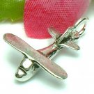 925 STERLING SILVER AIRPLANE CHARM / PENDANT