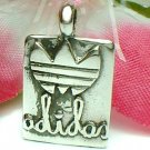 925 STERLING SILVER ADIDAS CHARM / PENDANT