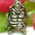925 STERLING SILVER NINJA TURTLE (MOVES) CHARM / PENDANT