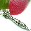 925 STERLING SILVER DART CHARM / PENDANT