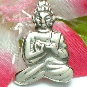 925 STERLING SILVER AMITABHA BUDDHA CHARM / PENDANT