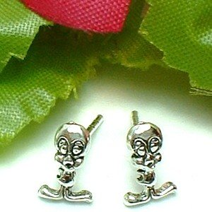 925 STERLING SILVER  TWEETY BIRD STUD EARRINGS