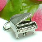 925 STERLING SILVER GRAND PIANO CHARM / PENDANT