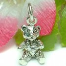 925 STERLING SILVER BEAR CHARM / PENDANT
