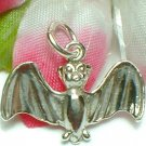 925 STERLING SILVER HALLOWEEN BAT CHARM / PENDANT