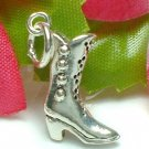 925 STERLING SILVER LADIES BOOT CHARM / PENDANT