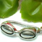 925 STERLING SILVER SWIMMING GOGGLE CHARM / PENDANT