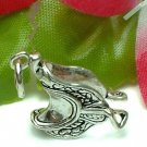 925 STERLING SILVER HORSE SADDLE CHARM / PENDANT