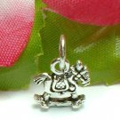 925 STERLING SILVER ROCKING HORSE CHARM / PENDANT