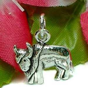 925 STERLING SILVER BULL COW CHARM / PENDANT