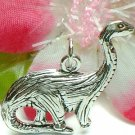 925 STERLING SILVER DINOSAUR CHARM / PENDANT