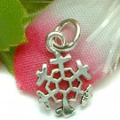 925 STERLING SILVER SNOWFLAKE CHARM / PENDANT