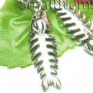 925 STERLING SILVER FISHBONE CHARM / PENDANT